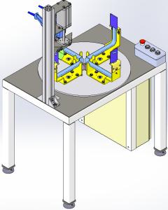 Maquina termoretractilado