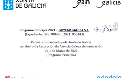 Convocatoria de axudas 2021, Programa PRINCIPIA